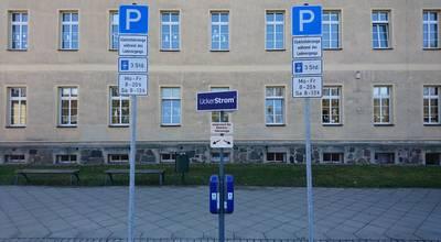 Mehr zu Stromtankstelle Parkplatz Diesterweg-Grundschule Prenzlau